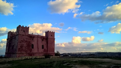 Forte Sant'Agata - torre rossa